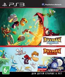 Комплект Rayman Legends + Rayman Origins (PS3)