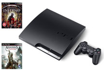Playstation 3 160Gb + Assassin's Creed III + Dante's Inferno