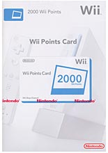 Points Card 2000 /Nintendo/