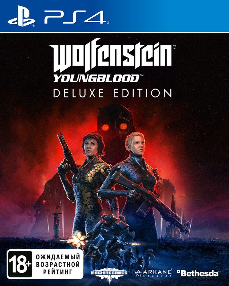 Wolfenstein: Youngblood. Deluxe Edition (PS4) (GameReplay)