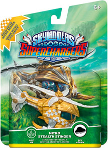 Skylanders SuperChargers Машина Stealth Stinger Nitro