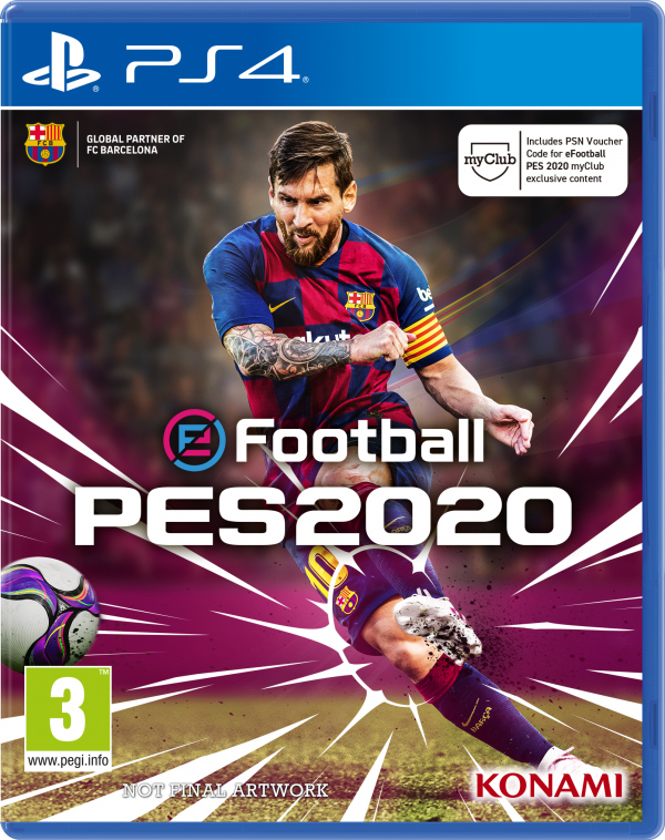 eFootball Pro Evolution Soccer 2020 (PS4) (GameReplay)