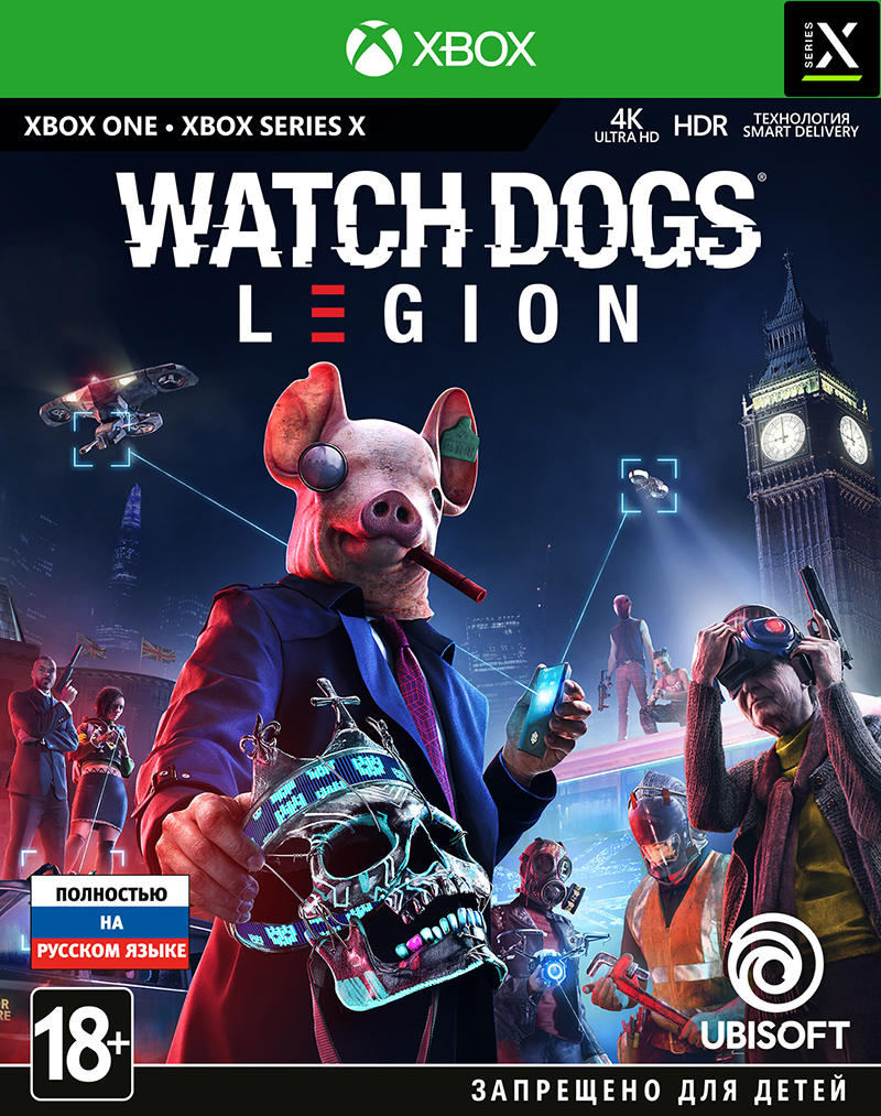 Watch Dogs: Legion (Xbox One) (GameReplay)