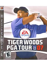 Tiger Woods PGA Tour 07 (PS3)