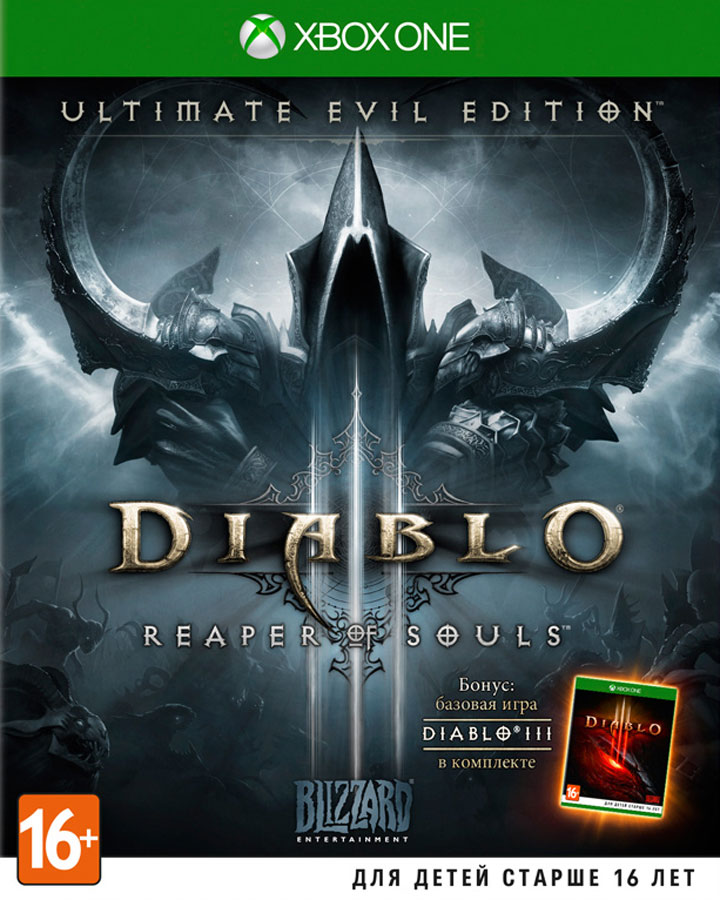 Diablo 3 (III): Reaper of Souls - Ultimate Evil Edition (Xbox One) (GameReplay)