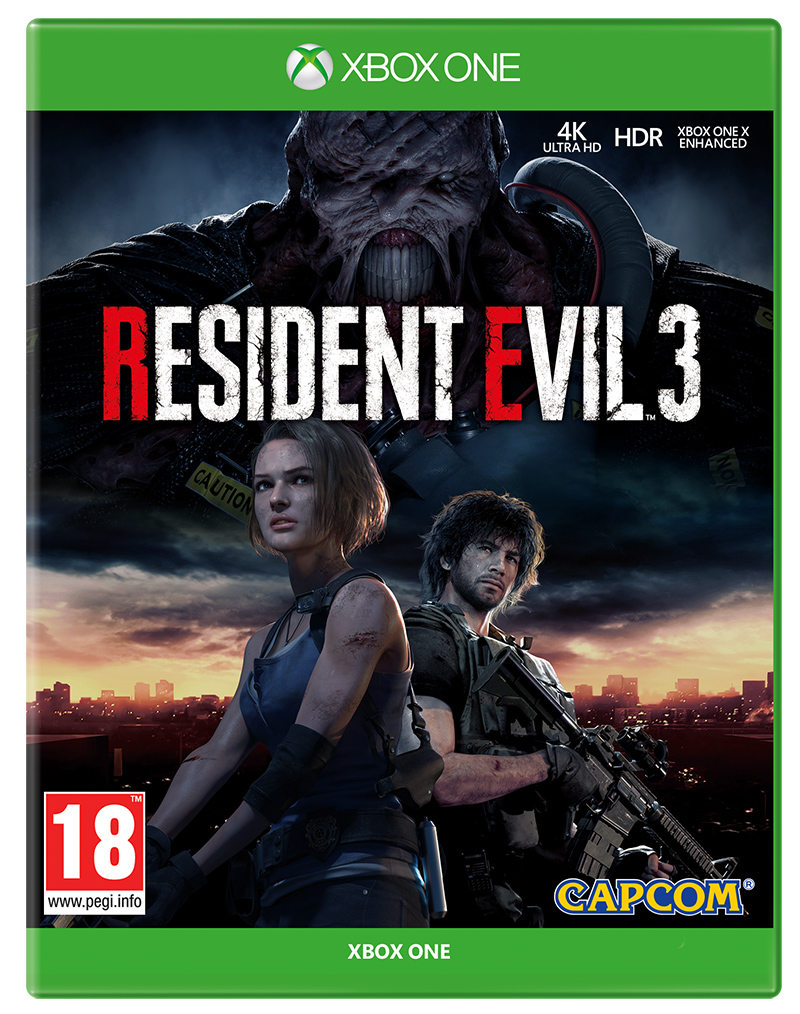 Resident Evil 3 (Xbox One) (GameReplay)