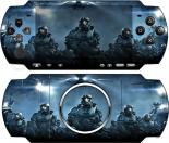 Наклейка PSP 3000 Halo (PSP)