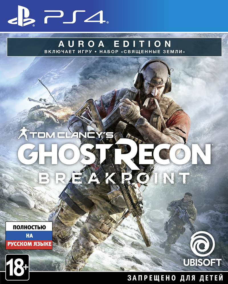 Tom Clancy's Ghost Recon: Breakpoint. Auroa Edition (PS4) (GameReplay)