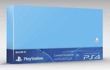 Custom Faceplate Синяя (PS4)