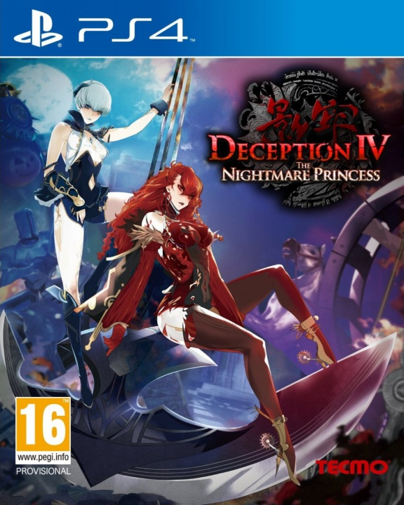Deception IV: Nightmare Princess (английская версия, PS4)