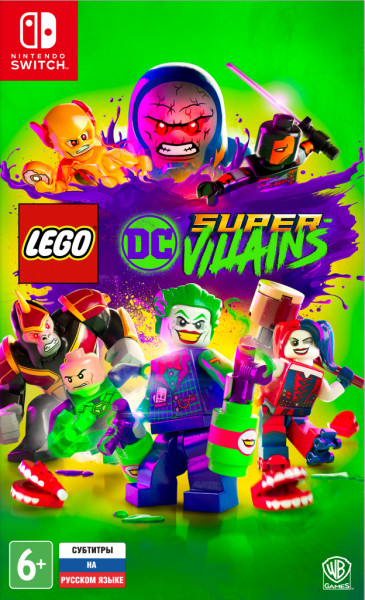 LEGO DC Super-Villains (Nintendo Switch) (GameReplay)
