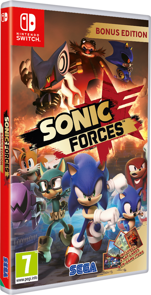 Sonic Forces [Nintendo Switch] (GameReplay)