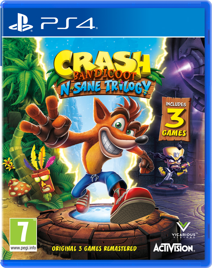 Crash Bandicoot N'sane Trilogy (PS4)