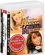 Комплект из 3-х игр для PS3: Миссия Дарвина + Hannah Montana the Movie + Sing It: High School Musical 3: Senior Year