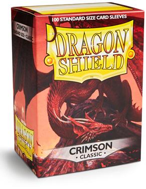 Протекторы для карт Dragon Shield (100 шт.): цвет - багровый фото