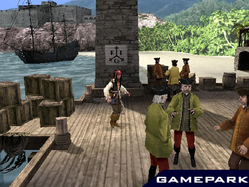 Screens Zimmer 8 angezeig: pirates of the caribbean ps2