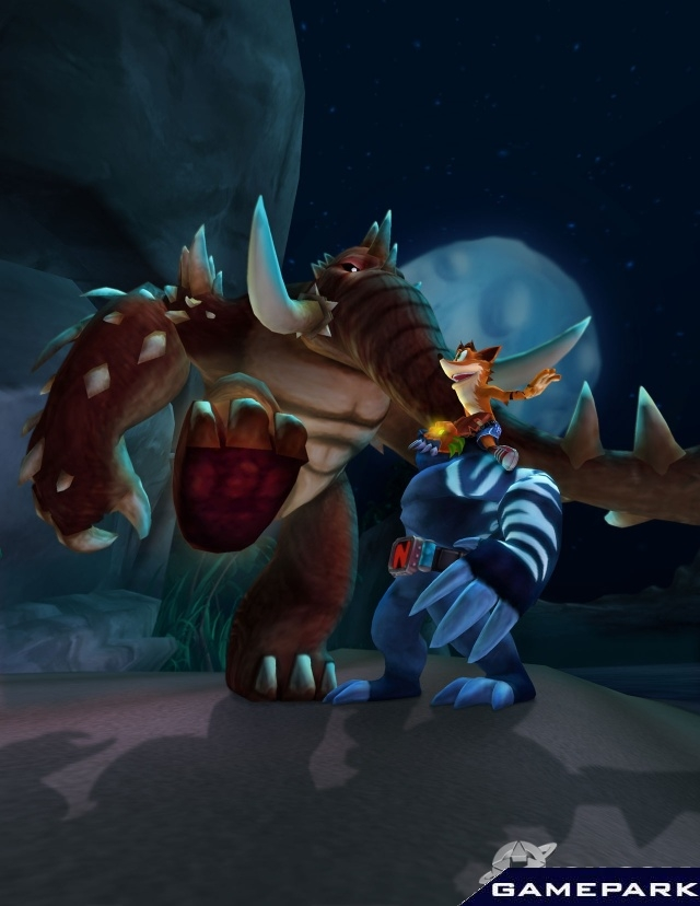 Крэш битва титанов игры 3