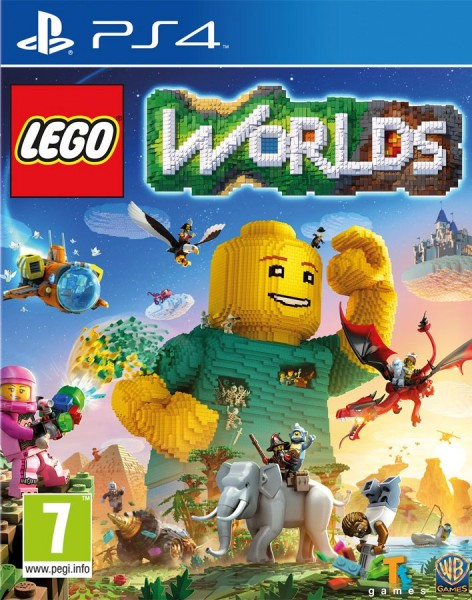 LEGO Worlds (PS4) (GameReplay)