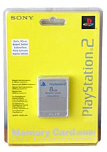 Memory Card 8MB Satin Silver