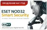 Eset NOD32 Smart Security. Карточка продления на 1 год