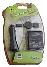 NDS Lite Power Kit 5 in 1