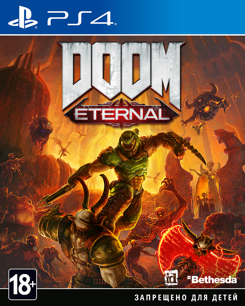 DOOM Eternal (PS4) (GameReplay)