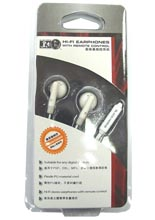 Hi-Fi Earphones with Remote Control