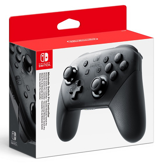 Контроллер Nintendo Switch Pro (Switch)