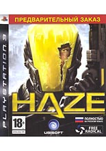 Haze Pre-Sell (PS3)