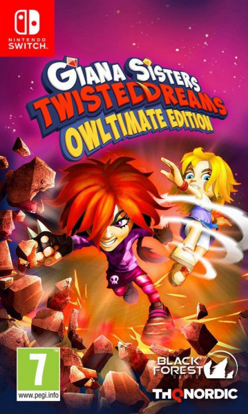 Giana Sisters: Twisted Dream. Owltimate Edition (Nintendo Switch) (GameReplay)