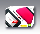 Nintendo 3DS XL HW Black + Red