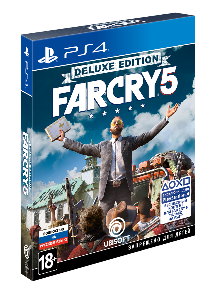 Far Cry 5. Deluxe Edition (PS4) (GameReplay)