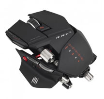 Mad Catz R.A.T.9 Wireless Gaming Mouse Matte Black USB