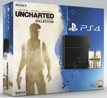 Sony PlayStation 4 1Tb + Uncharted: Натан Дрейк. Коллекция