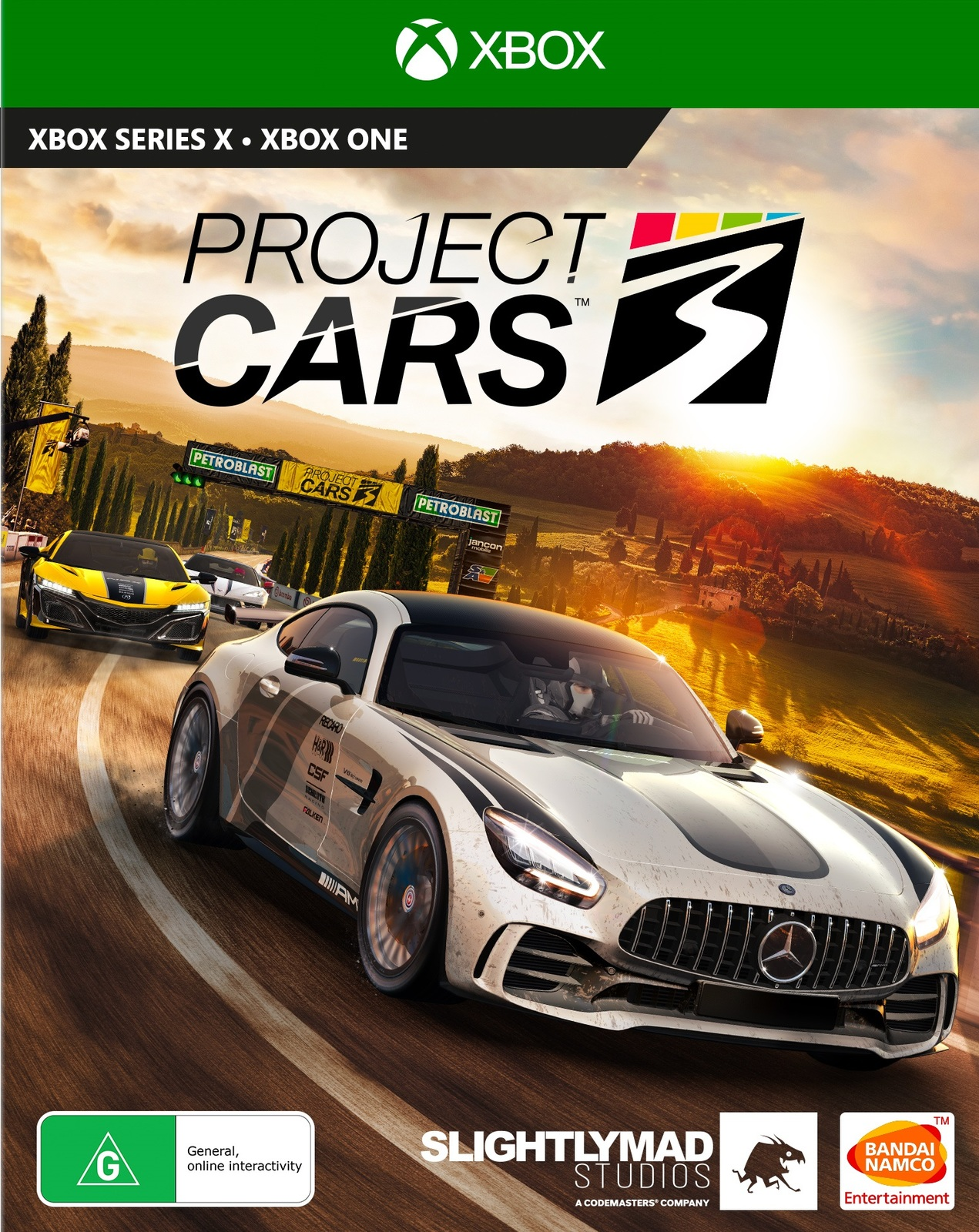 Project Cars 3 (Xbox One) (GameReplay)
