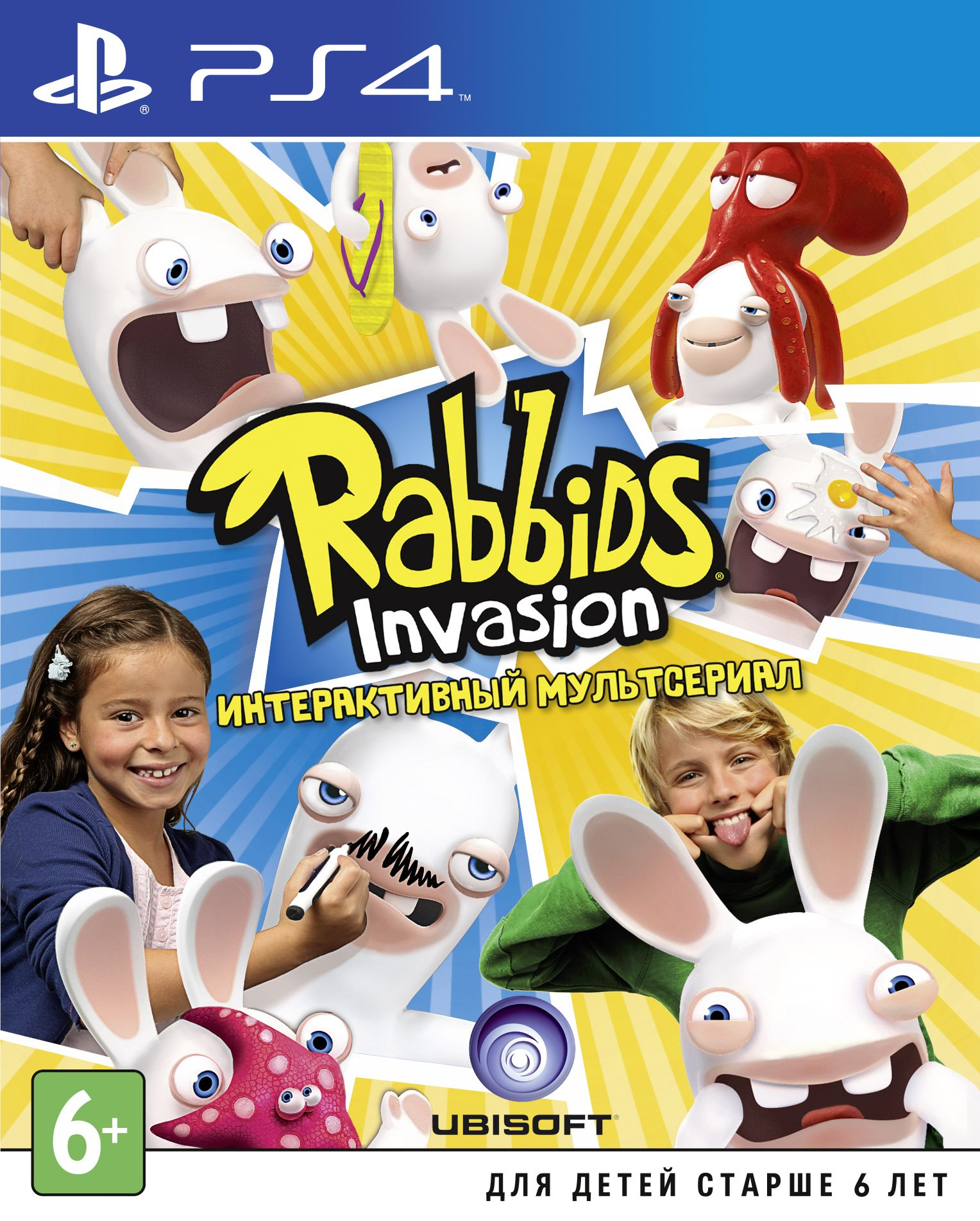 Rabbids Invasion (PS4) (GameReplay)