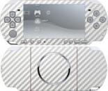 Наклейка PSP 3000 Карбон Белый (PSP)