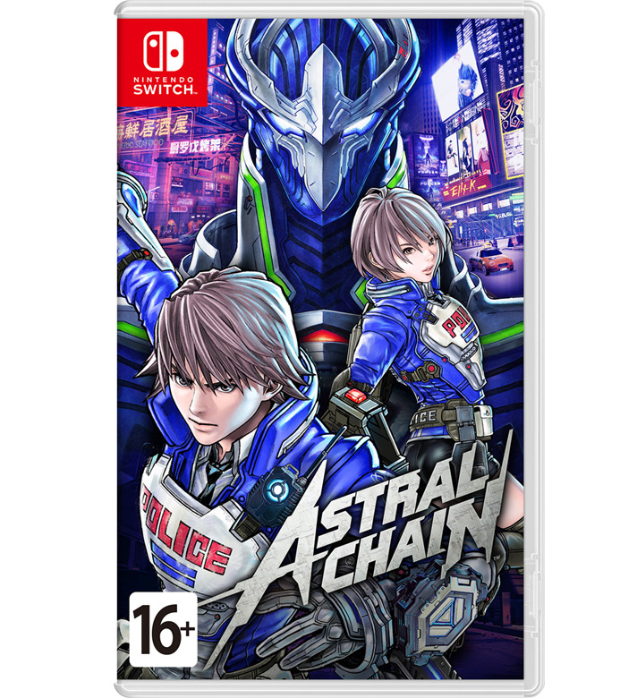 Astral Chain (Nintendo Switch) (GameReplay)