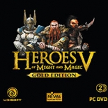 Heroes of Might and Magic V Gold edition (PC-DVD)