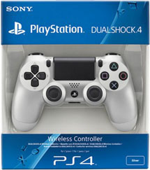 Геймпад Wireless DualShock 4 Silver