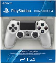 Controller Wireless DualShock 4 Silver