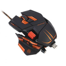 Mad Catz M.M.O. 7 Gaming Mouse Matte Black USB