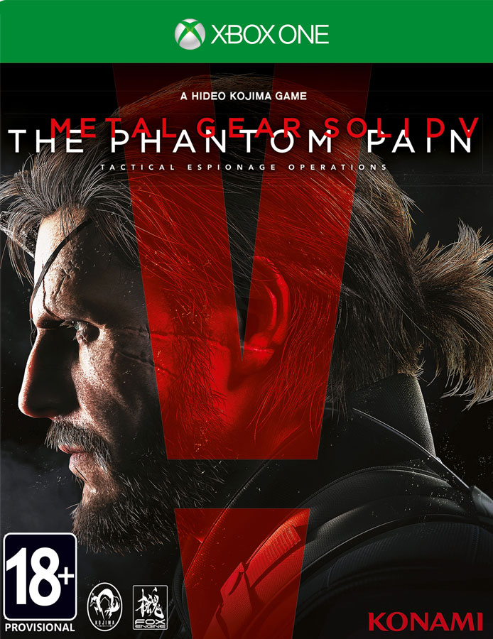 Metal Gear Solid 5(V): The Phantom Pain Day One Edition(Xbox One)