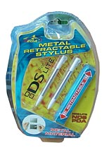 NDS Lite Metal Restract Stylus