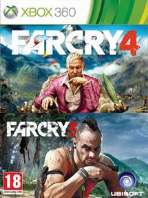 Far Cry 3 + Far Cry 4 (Xbox360)