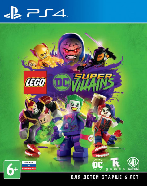 LEGO DC Super-Villains (PS4) (GameReplay)