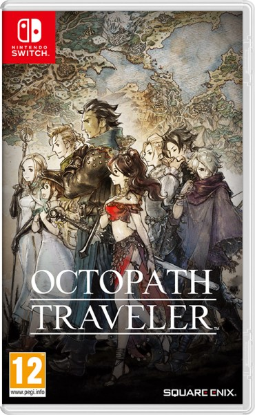 Octopath Traveler (Nintendo Switch) (GameReplay)