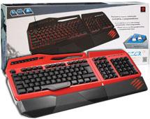 Клавиатура S.T.R.I.K.E.3 игровая RUS Red (PC)