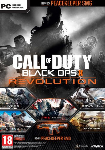 Call of Duty. Black Ops 2 Revolution. Набор карт (PC-DVD)