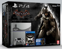 PlayStation 4 500Gb Batman: Рыцарь Аркхема Limited Edition